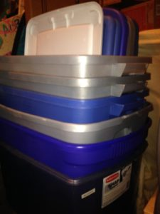 storage tubs for consignment